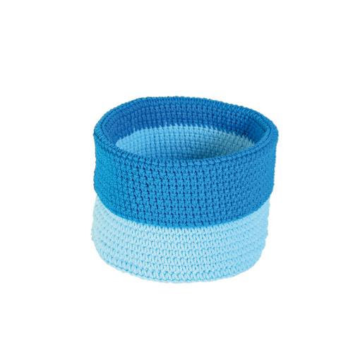 Allround Korb blau-dunkelblau S
