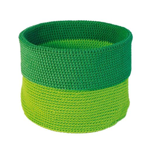 Allround Korb grün-dunkelgrün L