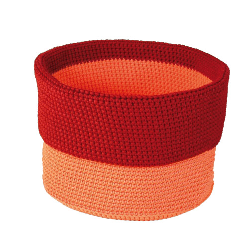Allround Korb orange-rot L