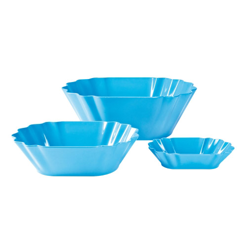 Picnic Melamin Schale M blau