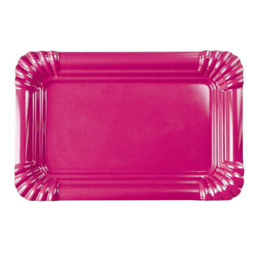 Picnic Melamin Platte M pink