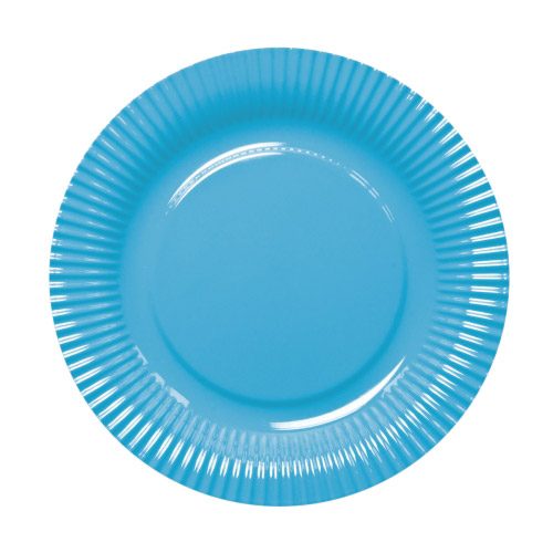Melamin Teller picnic blau