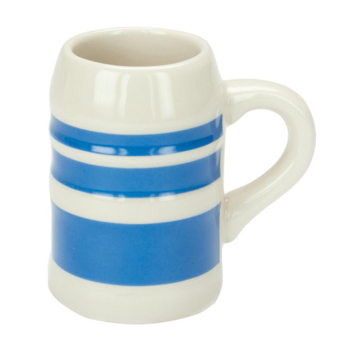 Schnaps-Krug Michl blau