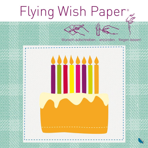 Flying Wish Paper Birthday