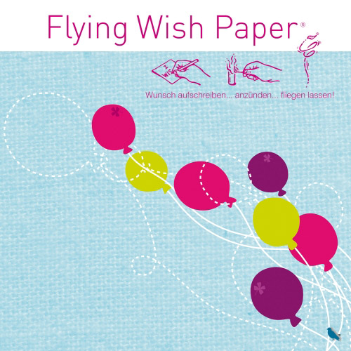 Flying Wish Paper Ballons