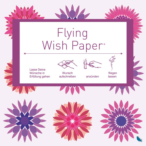 Flying Wishpaper Mini flowers