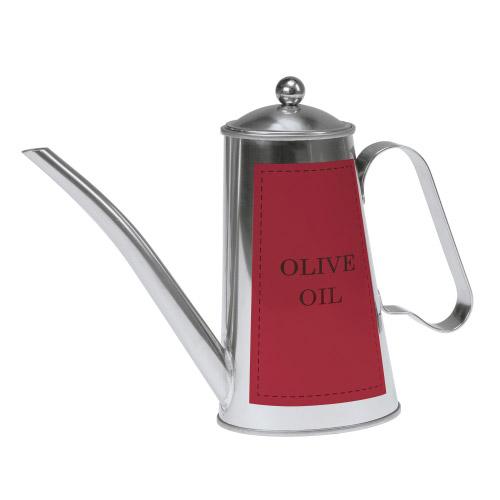 Olivenöl-Kanne Olivia rot
