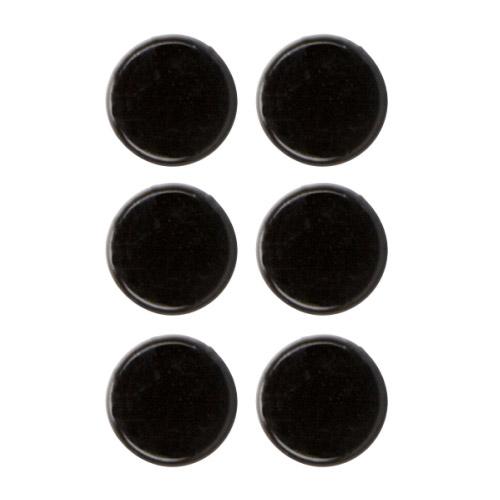 Platzkartenhalter Dots schwarz