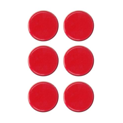 Platzkartenhalter Dots rot