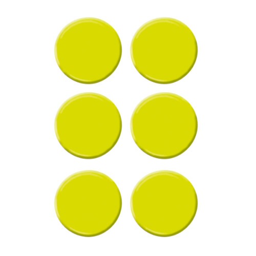 Platzkartenhalter Dots grün