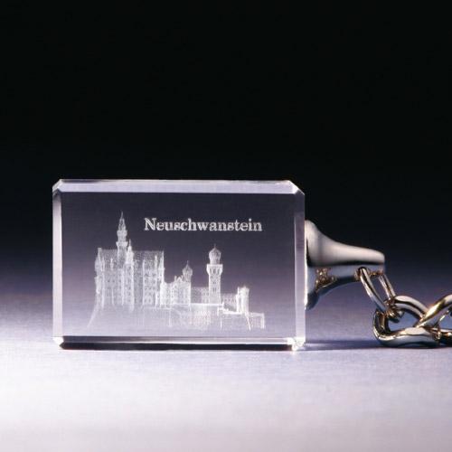 Schlüsselanhänger - Schloß Neuschwanstein