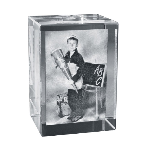 2D Foto in Glas 55x45x30 hoch