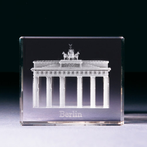 Glasblock - Brandenburger Tor Berlin