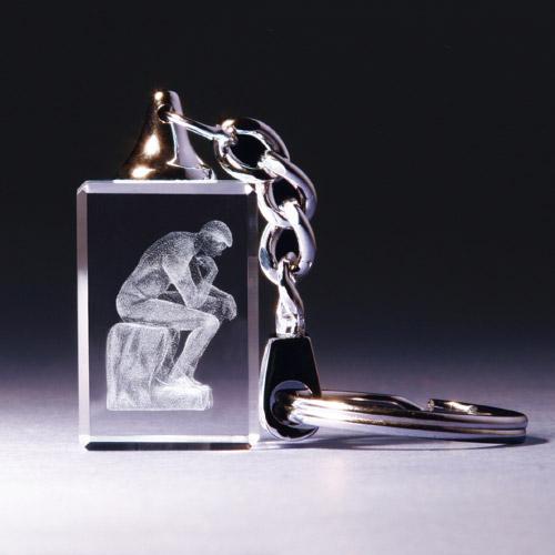 Schlüsselanhänger - Der Denker