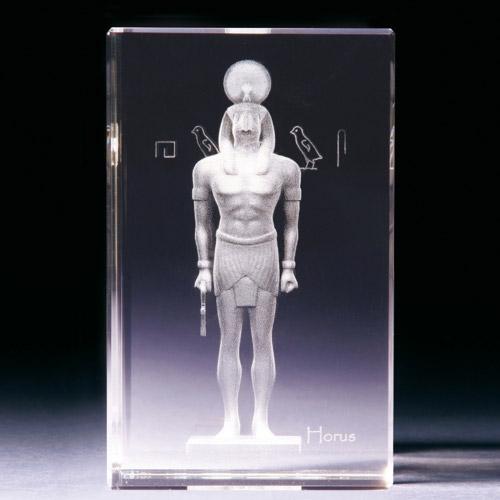 Glasblock - Horus