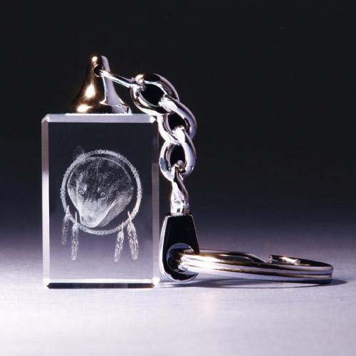 Schlüsselanhänger - Wolfskopf