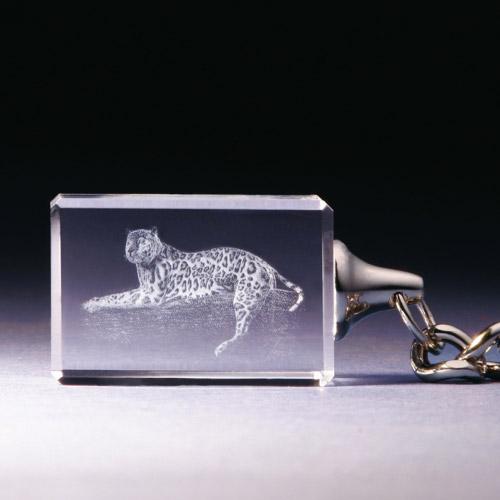 Schlüsselanhänger - Leopard