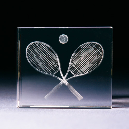 Glasblock - Tennisschläger