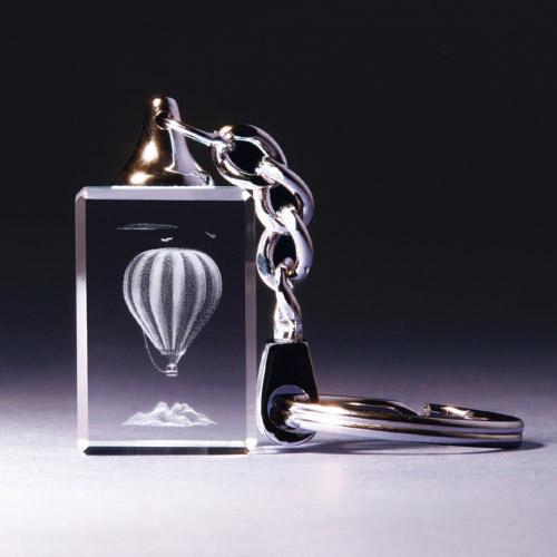 Schlüsselanhänger - Heißluftballon