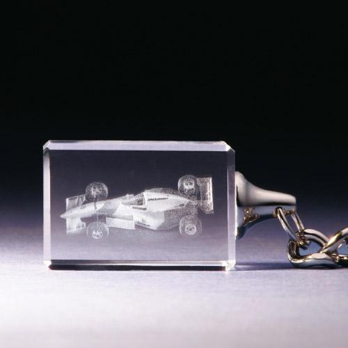 Schlüsselanhänger - Rennwagen