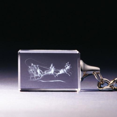 Schlüsselanhänger - Weihnachtsmann
