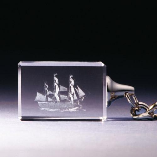 Schlüsselanhänger - Segelschiff - Victory