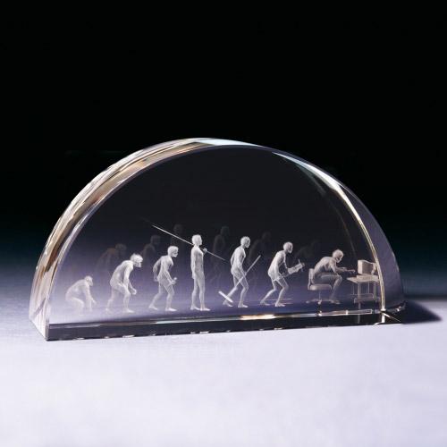 Glasbogen Evolution mittel