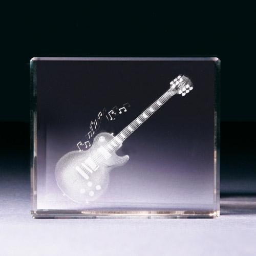 Glasblock - E-Gitarre
