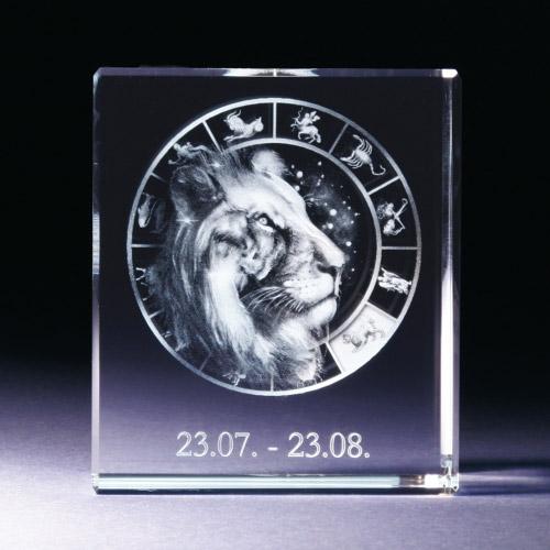 Glasblock - Löwe