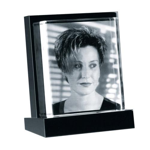 Foto in Glas - mit Glasaufsteller