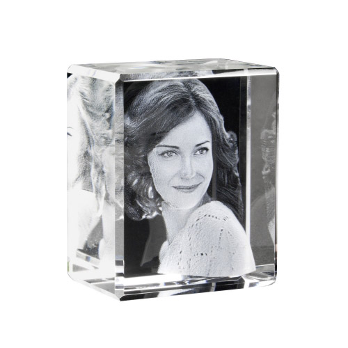 Foto in Glas - 3D Portrait - 1 Person