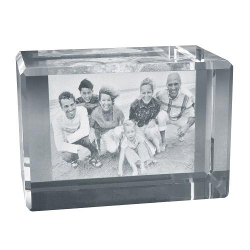 2D Foto in Glas 60x35x35 quer