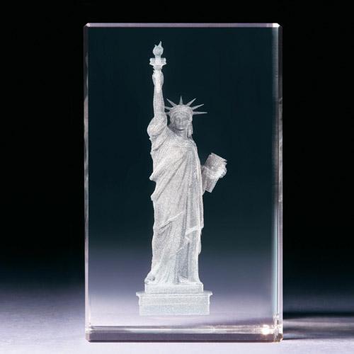 Glasblock - Freiheitsstatue