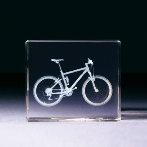 Glasblock - Mountainbike