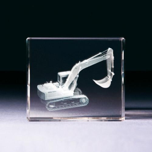 Glasblock - Bagger