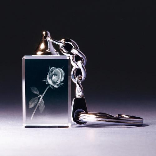Schlüsselanhänger - Rose
