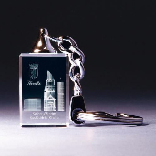 Schlüsselanhänger - Gedächtniskirche Berlin