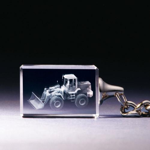 Schlüsselanhänger - Schaufellader