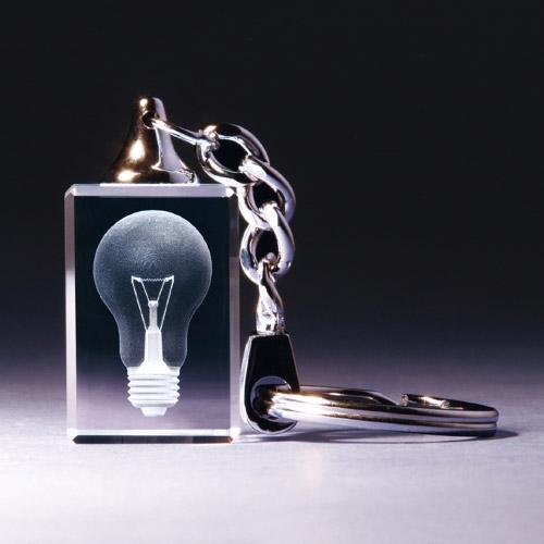 Schlüsselanhänger - Glühbirne
