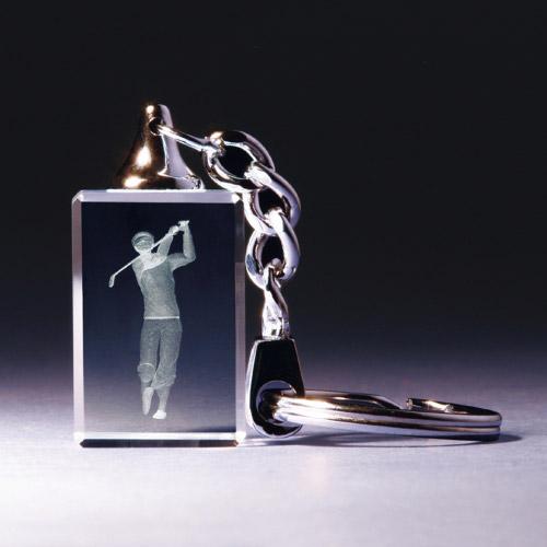 Schlüsselanhänger - Golfer klassisch