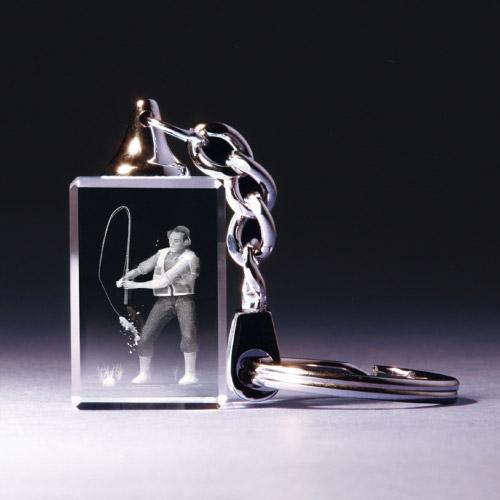 Schlüsselanhänger - Angler