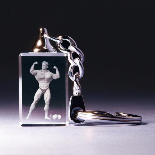 Schlüsselanhänger - Bodybuilding man