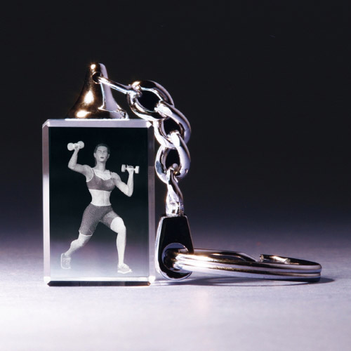 Schlüsselanhänger - Bodybuilding woman