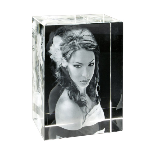 3D Glasfoto - Extra Gross
