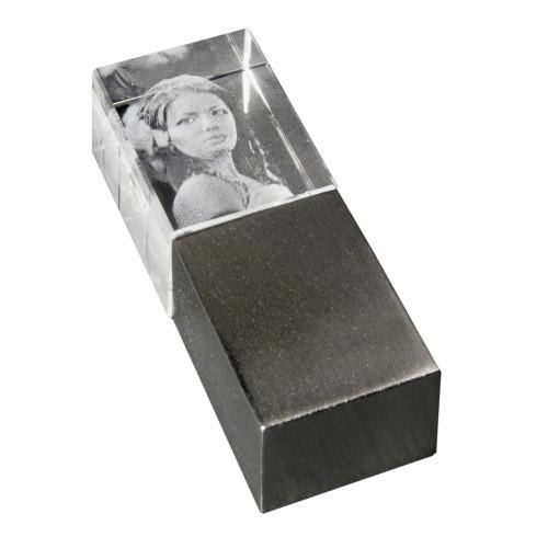 USB Stick Glasfoto 3D