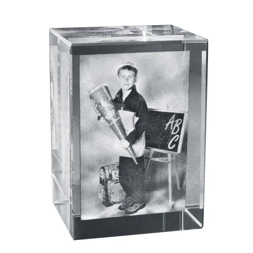 2D Foto in Glas 90x60x60 hoch
