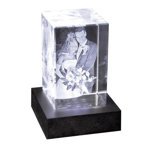 3D Foto in Glas 120x80x80 hoch