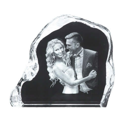 3D Glasfoto ROCK 1-2 Personen
