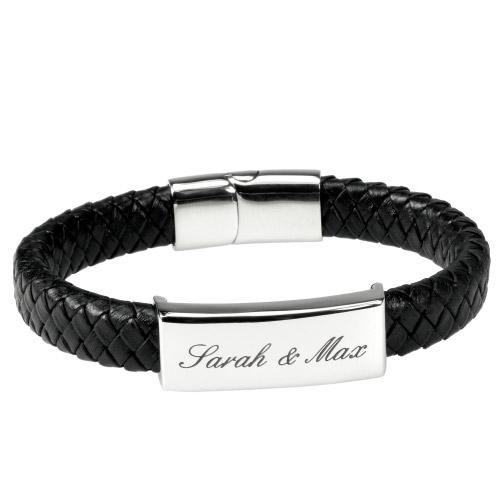 armband mit gravur für männer