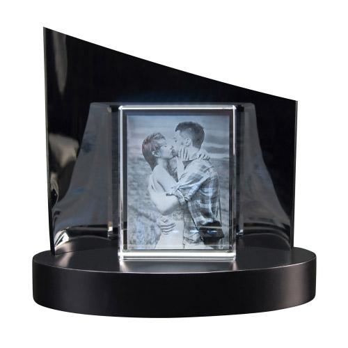 2D Glasframe + Clarisso® Sockel - SET - 105x80x30 hoch